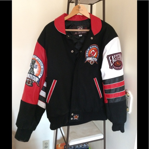 new product 0923d 6e35a New Jersey Devils championship jacket.